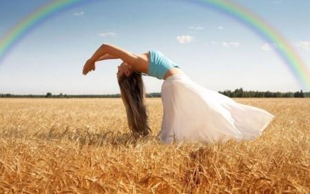 Женская славянская гимнастика