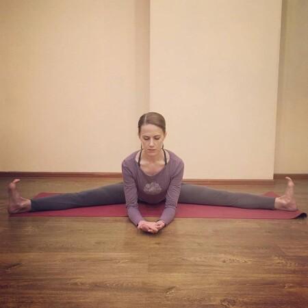 женская йога фото